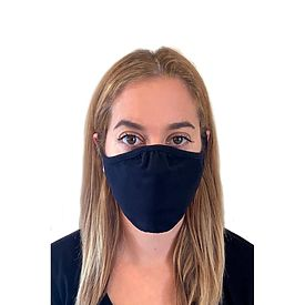 THREE PACK Face Mask/covering 3 ply- Black (includes shipping)