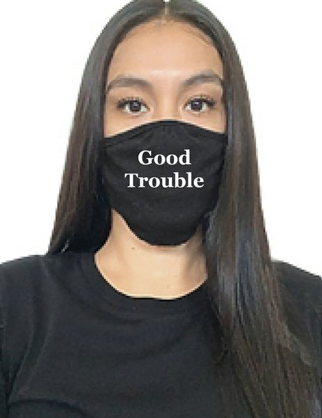 "Original ""Good Trouble"" Masks with free shipping-SIX PACK"