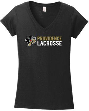 N. Ladies Providence Lacrosse v-neck t-shirt