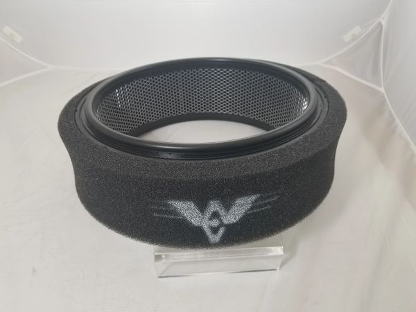 "Foam Pre filter Wrap (low restriction) 1"" thick"