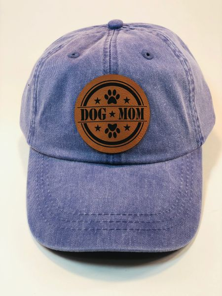 Dog Mom Pigment Dyed Cap