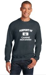 Pawperty of Canine Athletic Department Sweatshirt/Hoodie