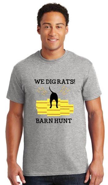 Barn Hunt: We Dig Rats! Unisex T-shirt