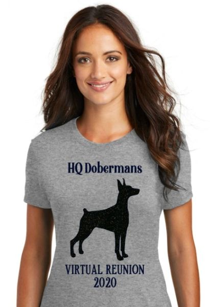 HQ Dobermans Virtual Reunion 2020 Women's T-shirt