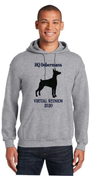 HQ Dobermans Virtual Reunion 2020 Unisex Hoodie