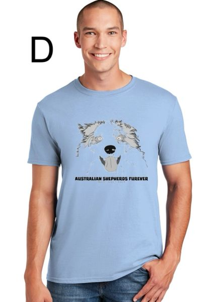 Australian Shepherds Furever Unisex T-shirt