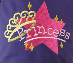 Princess Star Chef's Apron for Kids