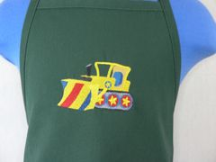 Bulldozer Chef's Apron for Kids