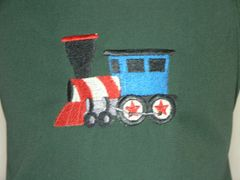 Train Steam Engine Chef's Apron for Kids