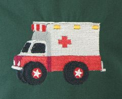Ambulance Chef's Apron for Kids