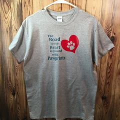 The Road to my Heart is Paved with Pawprints T-Shirt