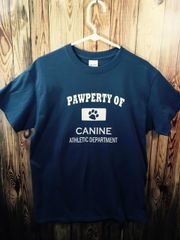 Pawperty of Canine Athletic Department T-shirt