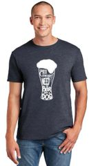 All You Need is Beer and a Dog Unisex T-shirt