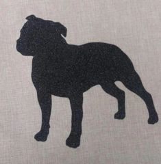 "American Staffordshire Terrier 18"" Pillow/Pillowcase"