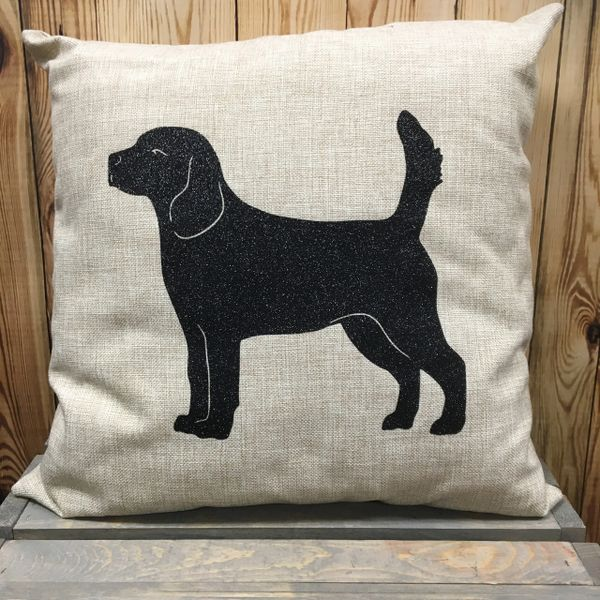 "Beagle #2 18"" Pillow/Pillowcase"