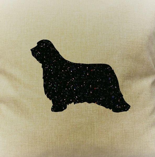 "Bearded Collie 18"" Pillow/Pillowcase"