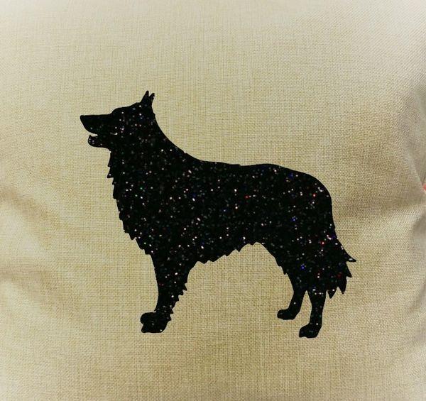 "Belgian Shepherd 18"" Pillow/Pillowcase"