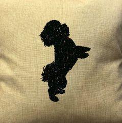 """Bichon Frise 18"""" Pillow/Pillowcase"""
