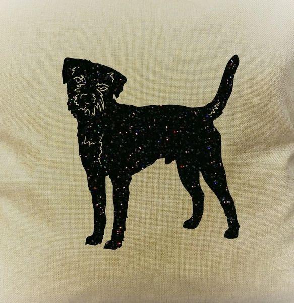 "Border Terrier 18"" Pillow/Pillowcase"