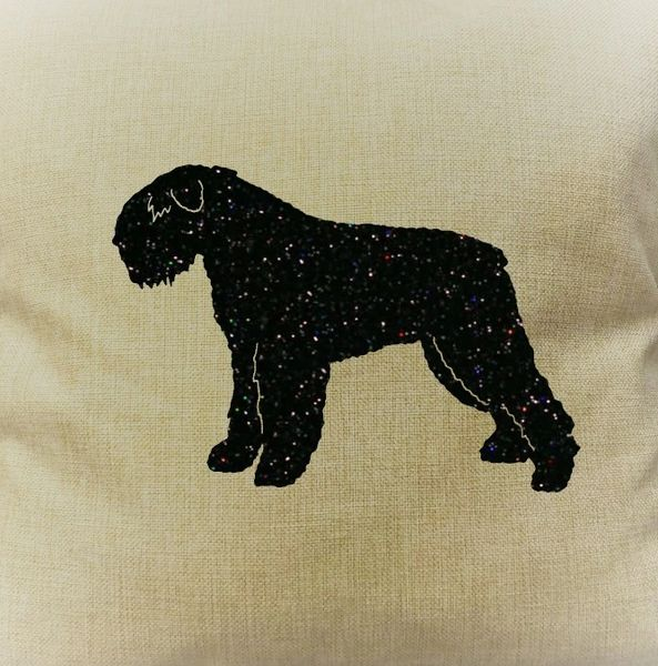 "Bouvier des Flandres 18"" Pillow/Pillowcase"