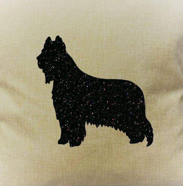 "Briard 18"" Pillow/Pillowcase"