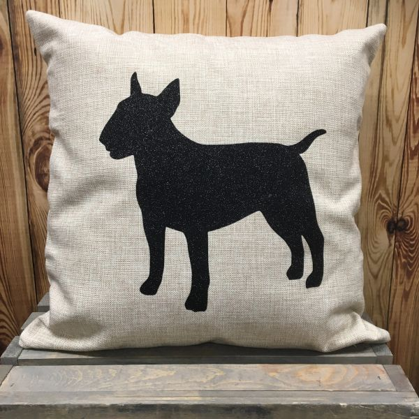"Bull Terrier 18"" Pillow/Pillowcase"