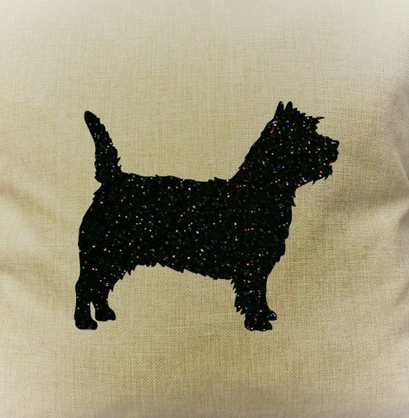 "Cairn Terrier 18"" Pillow/Pillowcase"