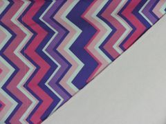 NeNee's Soft Blankies Pink and Purple Chevron