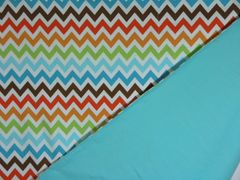 NeNee's Soft Blankies Wild About Chevron