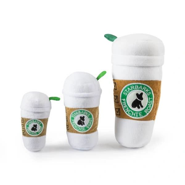 Starbarks Coffee Cup W/ Lid Dog Toy
