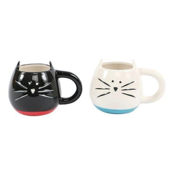 Ceramic Shaped Cat Mug
