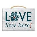 Love Lives Here! - Rectangle Sign