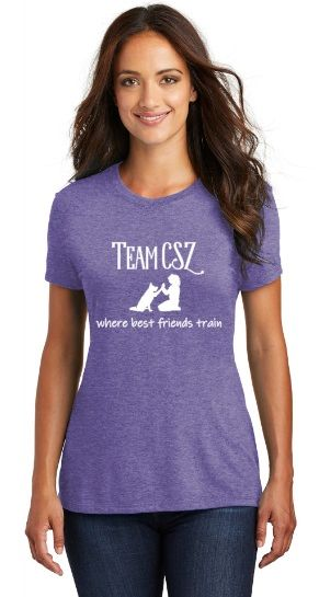 Team CSZ: where best friends train Women's T-Shirt