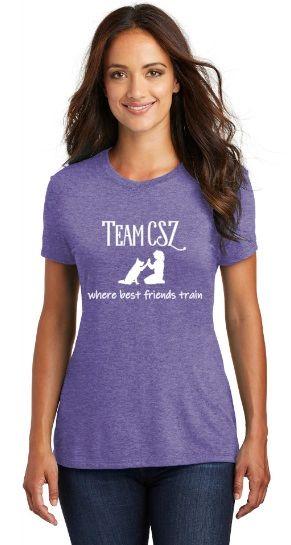Team CSZ: where best friends train Women's T-Shirt