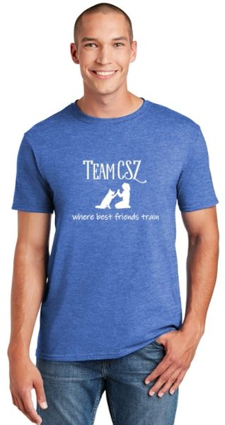 Team CSZ: where best friends train Unisex T-Shirt