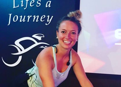 Julia Jeffrey Spin Instructor at Enjoy the Ride MAUI