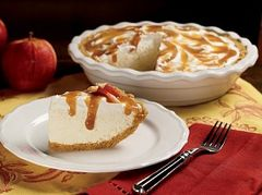 Crisp Apple Cheesecake