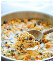 Family Meal Night Southwestern Turkey Casserole
