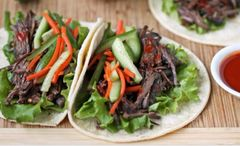 Korean Style Beef Taco Wednesday Delivery