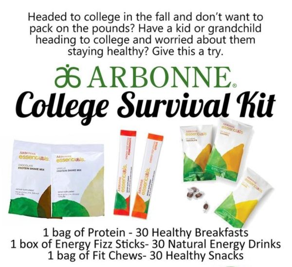 College Nutrition Survival Kit