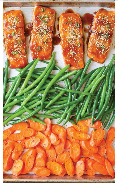 Basil Parmesan Crusted Salmon or Chicken Wednesday Delivery