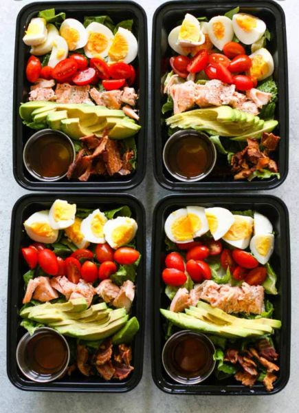 Salmon Cobb Salad Wednesday Delivery Options