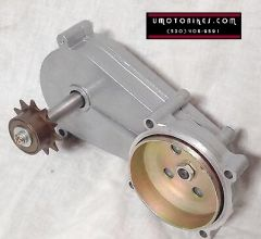4-STROKE MOTORIZED BICYCLE GEAR BOX TRANSMISSION