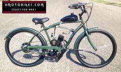 DO-IT-YOURSELF U-MOTO 2-STROKE ANSWER (TM) MOTORIZED BICYCLE SYSTEM