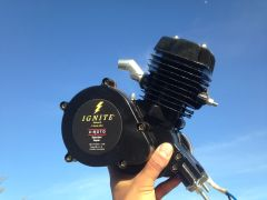 IGNITE (TM) 48CC 2-STROKE BICYCLE MOTOR (MOTOR ONLY)