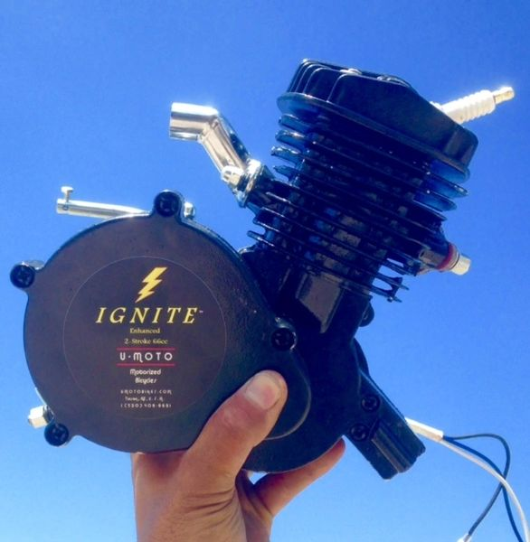 IGNITE (TM) 66/80CC 2-STROKE BICYCLE MOTOR (MOTOR ONLY)