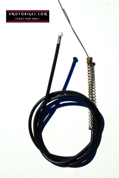2-STROKE MOTORIZED BICYCLE CLUTCH CABLE