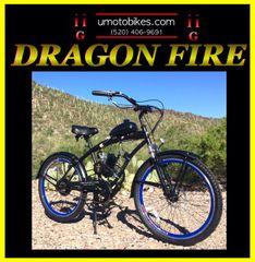 DO-IT-YOURSELF DRAGON FIRE 2G (TM) 2-STROKE EXTENDED CRUISER BLUE