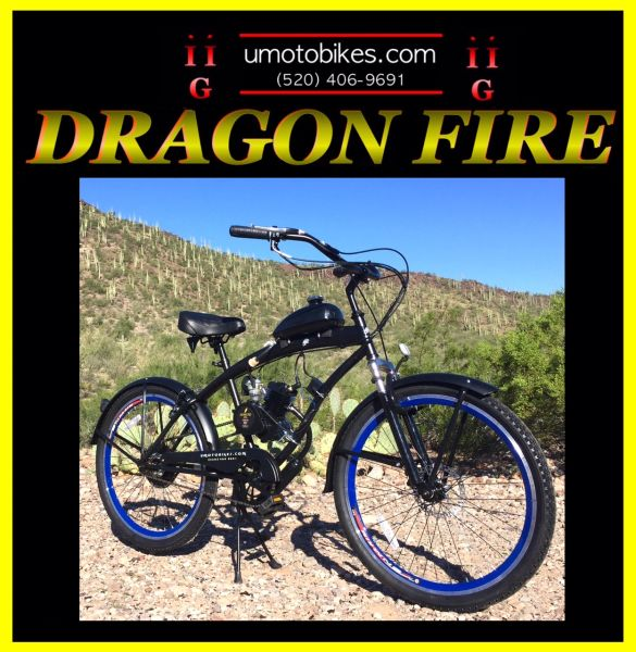 DO-IT-YOURSELF DRAGON FIRE 2G (TM) 2-STROKE EXTENDED CRUISER BLUE