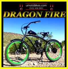 DO-IT-YOURSELF DRAGON FIRE 2G (TM) 2-STROKE EXTENDED CRUISER GREEN
